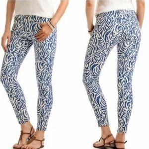 NWOT vineyard vines pattern skinny jeans